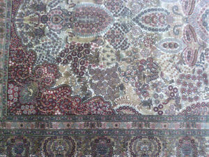 Very Fine Hereke Hand-Knotted Silk Rug - 800-850 kpsi North Shore Greater Vancouver Area image 5