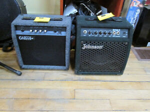 We Have 2 Different Guitar Amps For Sale At Nearly New Port Hope