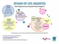 Swimming Lessons and Aquatic Fitness Classes