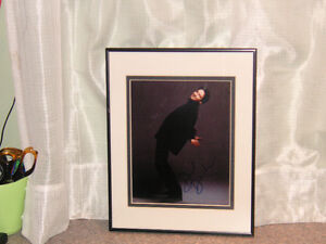 David Duchovny X Files Signature framed photo