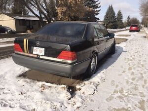 1995 Mercedes Benz s-320 Project Car, missing battery, can run