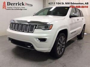 2017 Jeep Grand Cherokee   Used 4WD Overland nav Pano Sunroof $3
