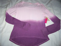 Ardene pink dip dye sweater - new with tag