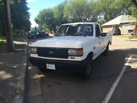 1990 f150 4x4 auto needs tranny work or can be used for parts