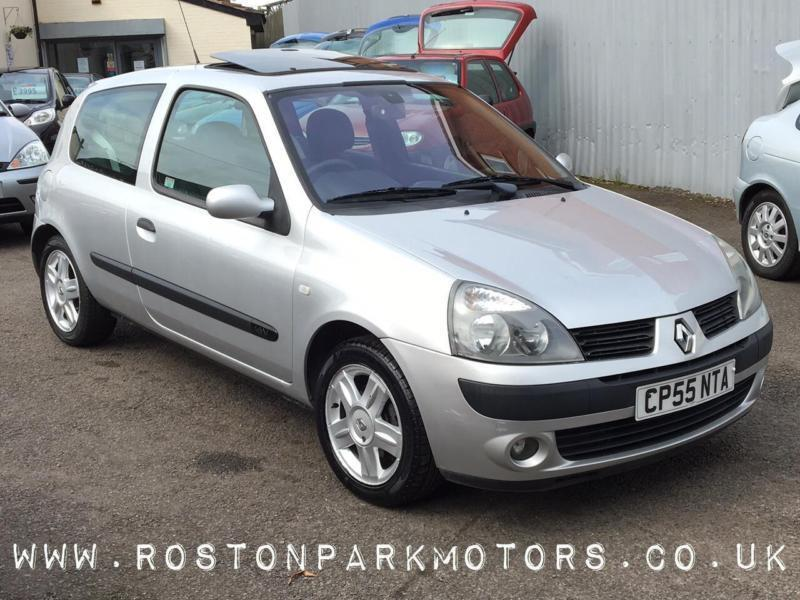 2005 renault clio 1 2 16v dynamique new mot in nuneaton warwickshire gumtree. Black Bedroom Furniture Sets. Home Design Ideas