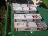welding rods electrodes different model sizes and brand 10$ + ea