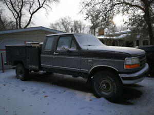 1996 F250 7.3 with Service Body