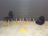 Dining chairs - Eames style - x4
