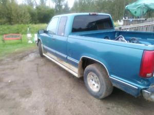 Need gone 1997 Chevrolet Silverado 2wd.