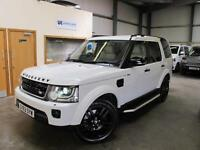 Land Rover Discovery 4 HSE 3.0SDV6 Auto in White with Cream leather & Black pack