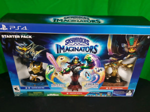 New - PS4 SKLANDERS IMAGINATORS Starter Pack
