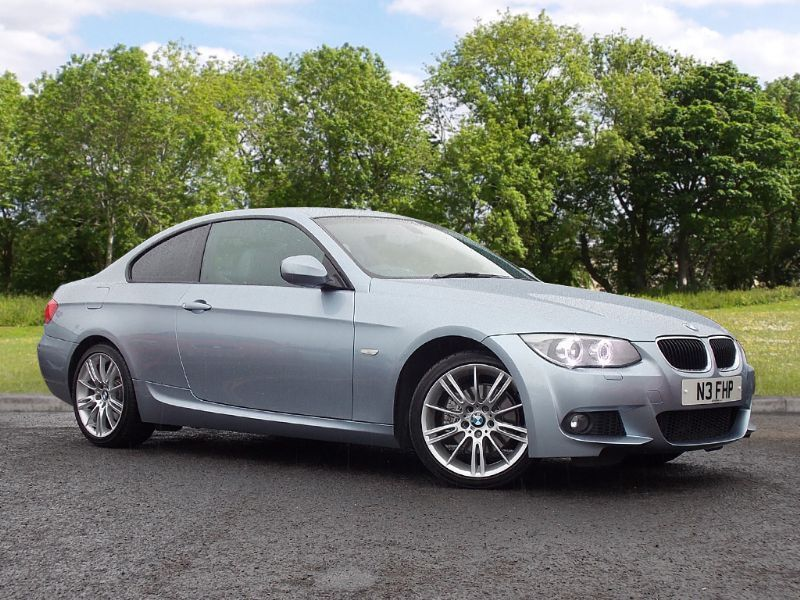 BMW 3 SERIES 2.0 320d M Sport 2dr (blue) 2011