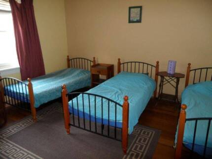 Large Room w 3 single beds for female travellers near Acland St St Kilda Port Phillip Preview
