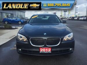 2012 BMW 7 Series 750i   WOW... LOW KMS!!  BEAUTIFUL CAR Windsor Region Ontario image 12