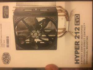 Various PC parts. (ALL NEW AND UNUSED)