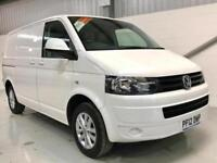 VW VOLKSWAGEN TRANSPORTER T5 LOW MILEAGE 2.0TDi SWB SAT NAV AIRCON LIKE HIGHLINE