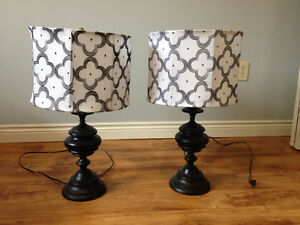 Set of table lamps for sale