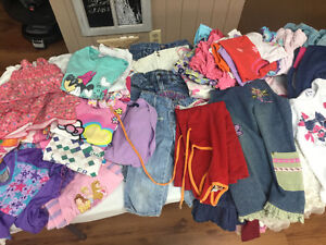 Vêtements pour fille 4-5 ans