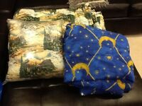 Camping sleeping bags/ quilts.