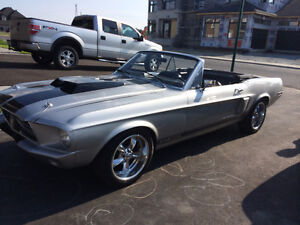 mustang shelby gt 350 replica 1968 convertible