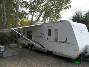 Jay Feather - 25 ft travel trailer
