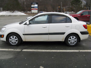 2007 KIA RIO 4 DR SEDAN NEW MVI $2200 OBO