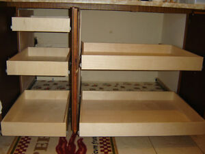 MAKE YOUR CUPBOARDS MORE USER FRIENDLY--WITH ROLLING SHELVES Kawartha Lakes Peterborough Area image 3