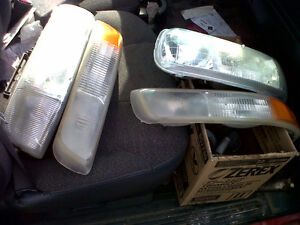 Chevy Silverado/Suburban/Tahoe head lights and turn signals