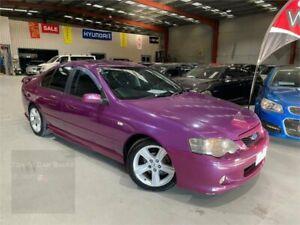 2005 Ford Falcon BA Mk II XR6 Purple 4 Speed Sports Automatic Sedan Laverton North Wyndham Area Preview