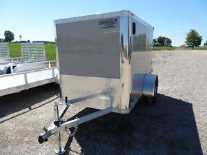 **REDUCED** 2018 Bravo Star 5' x 8' Enclosed Trailer