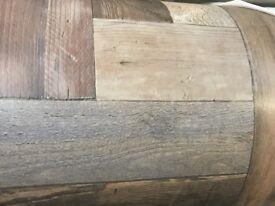 9ft by 13 ft brand new vinyl old floor board look