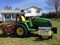 Spring  & Fall Lawn Aerating and Liming Application