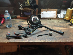 2011 sno pro 600 speedo wiring and front bumper for trade