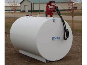 300, 500 and 1000 gallon tanks