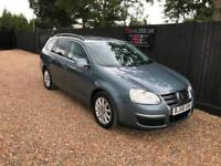 2008/58 Volkswagen Golf 2.0TDI CR SE Estate Full Service History P/X Welcome