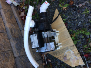 Two hot tub pumps could be used for something else