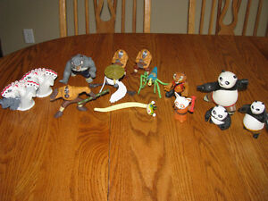 Kung Fu Panda Figures Kitchener / Waterloo Kitchener Area image 1
