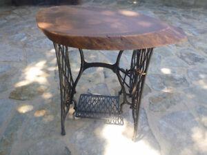 table et pied de moulin