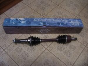 NEW YAMAHA FRONT AXLE