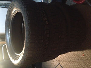 """4 16"""" Winterforce Studded Winter Tires - 205/60/R16 - $40"""