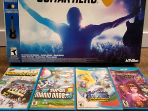 Jeux wii u pokemon tournament, Guitar Hero, Super Mario Bros