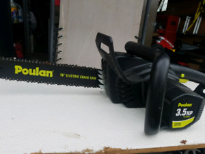 Poulan 3.5hp Electric Chainsaw