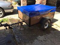 Camping trailer 4x3'