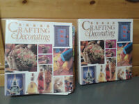 Crafting and Decorating Made Simple, 2 Book Set