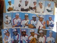 MONTREAL EXPOS-(1977-2004)-PLAYER POSTCARDS.