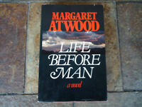 SIGNED MARGARET ATWOOD 'LIFE BEFORE MAN'  1ST EDITION