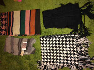 Scarves - an assortment