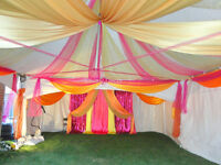 House decoration with elegant backdrops for any occasion