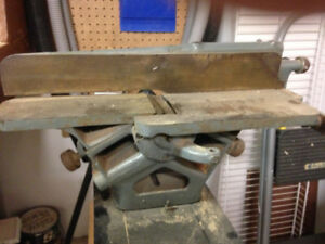 4' Cast iron planer with stand