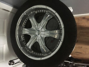 20 inch rims 5 bolt multi pattern